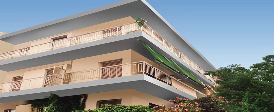 Ampelokipi - Athens 2 Bedroom apartment / Street Level  at